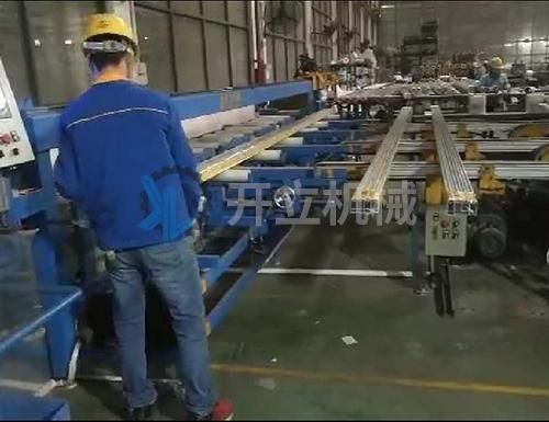 天津铝材套袋机